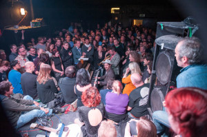 The back room rammed on the venue's closing night in May 2013. Photo: Justin McDermott