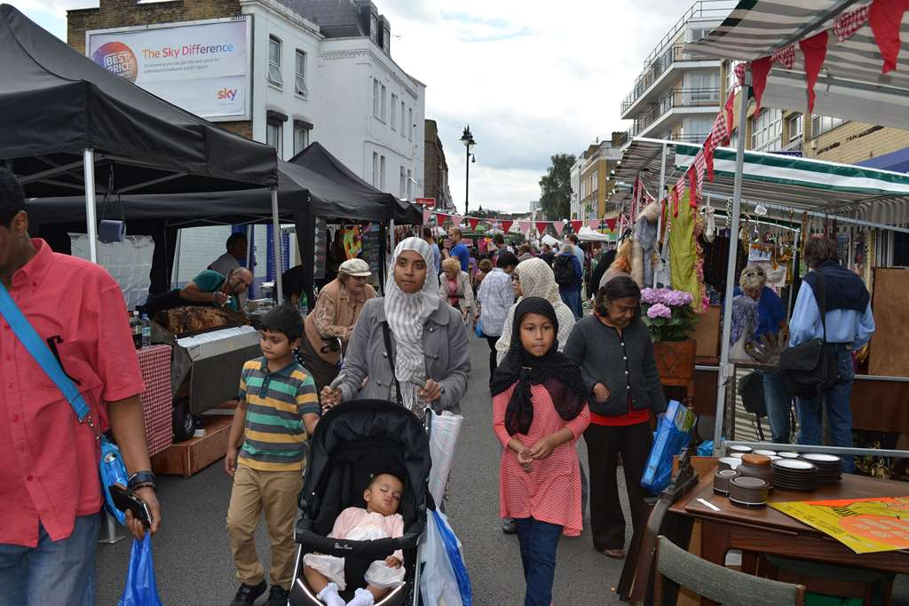 Queen's Crescent market. Photo: SE