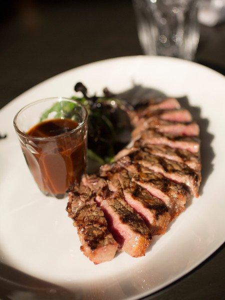 Flat iron steak. Photo: DMR