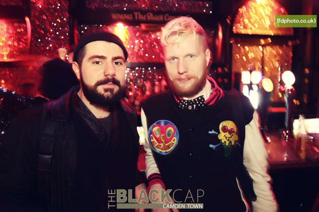 In its heyday: boys at the Black Cap. Photo: BC
