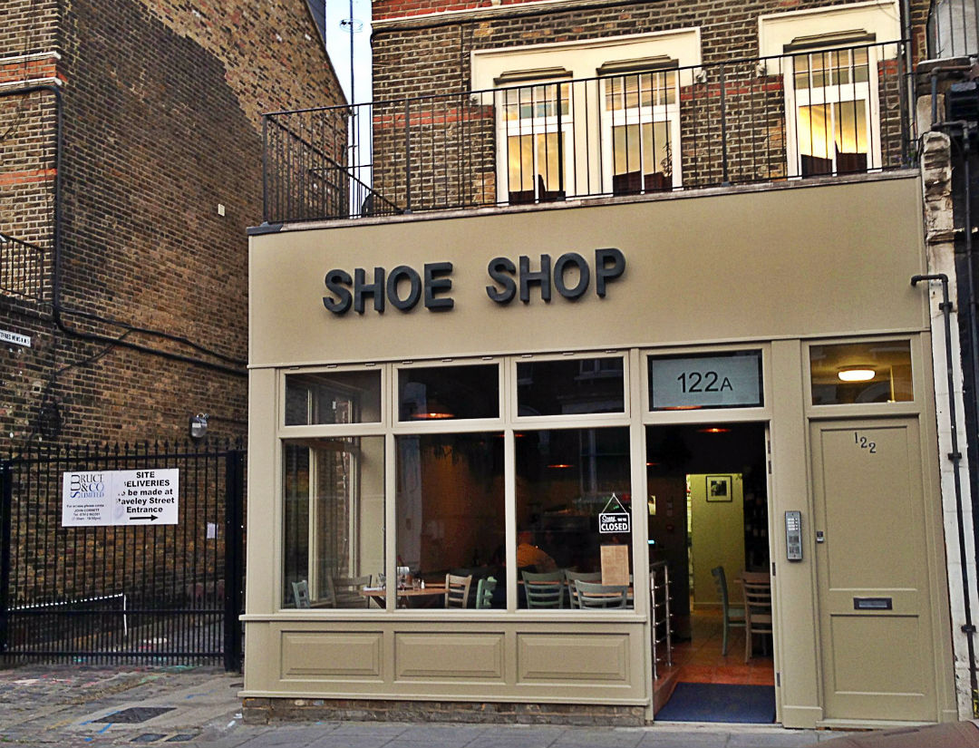 Shoe Shop: for one more week only. Photo: SE