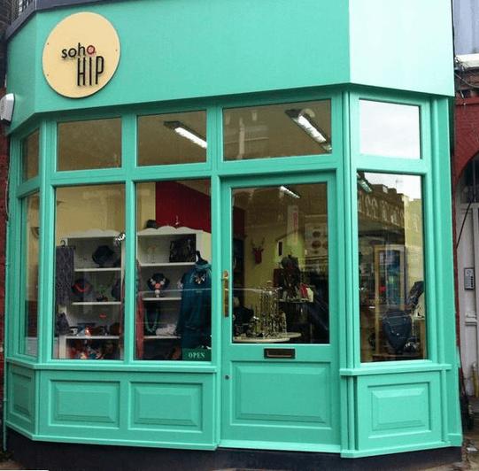 How the shop looked as Soho Hip. Photo: LBTM