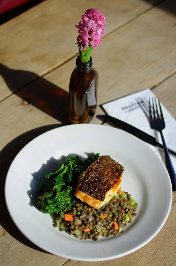 Oh My Cod: The Grafton's signature fish dish.  Photo: PR