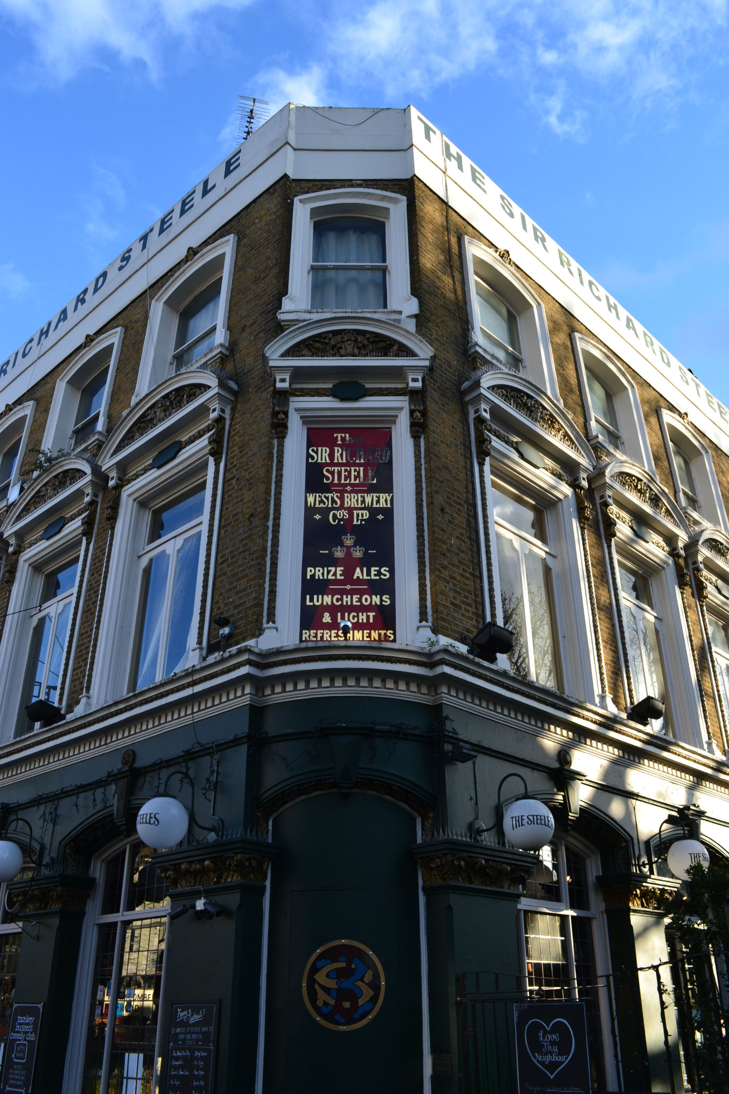 A legendary north London pub: all staff and the manager have been laid off as of today.