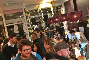 Vibrant: the longstanding Dartmouth Park cafe is now a busy bar at weekends. Photo: RL