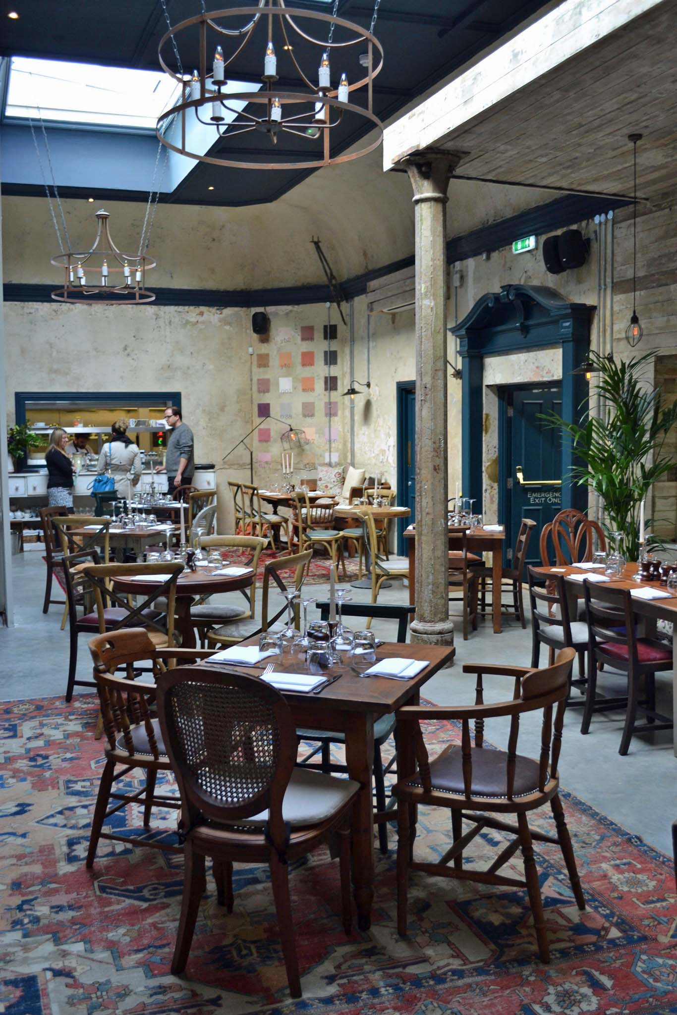 Unrecognisable: the dining room was once the gig venue. Photo: SE
