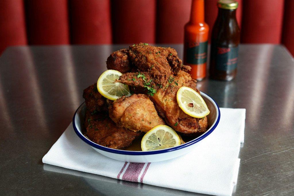 A plate of chicken. Photo: Joe's