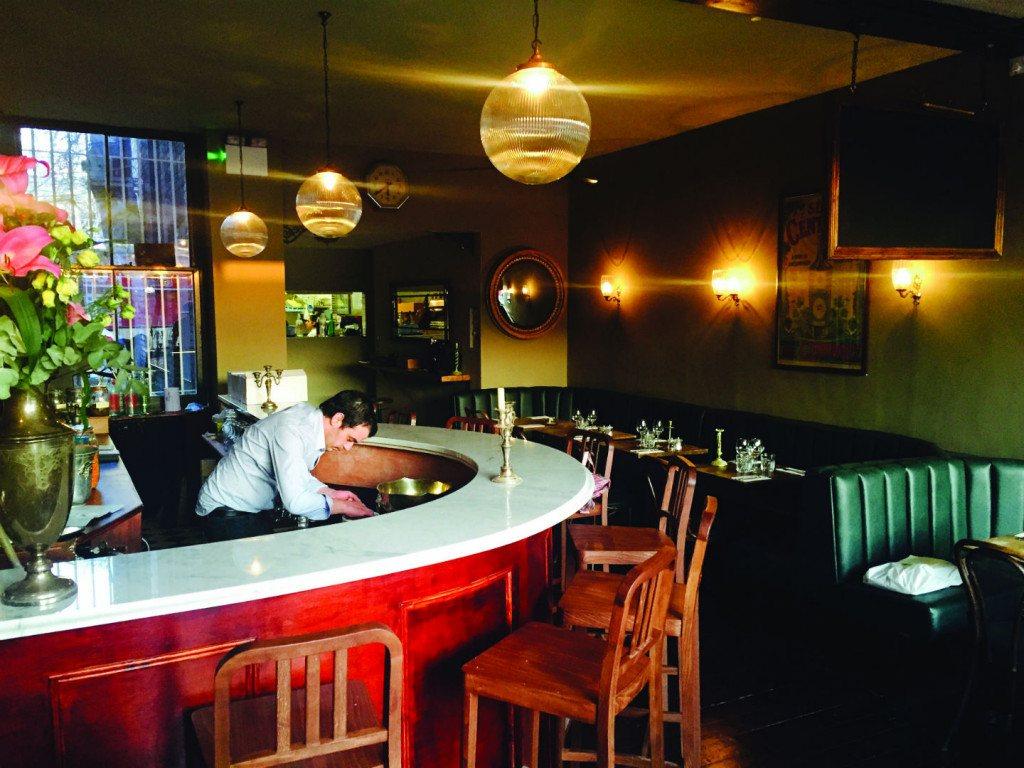 Circular bar in Patron. Photo: PR