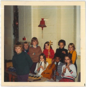 A class orchestra, 1974. Photo: CLS