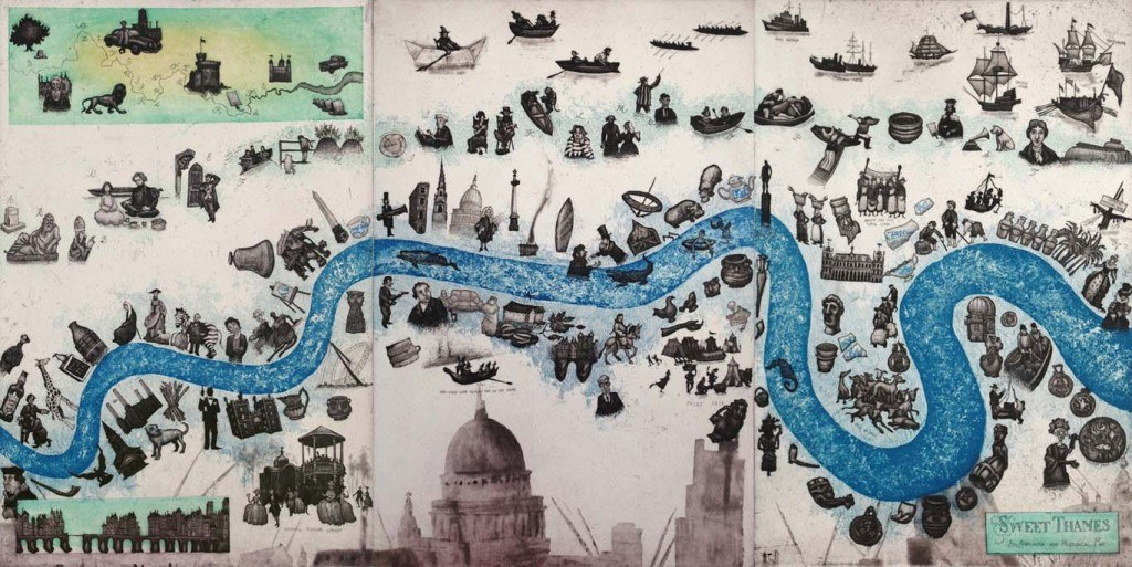 Sweet Thames, by Mychael Barratt