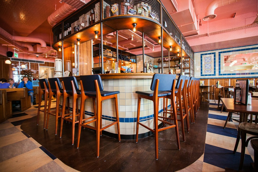 Inside the Club: how the Black Cap might look when it reopens. Photo: PR