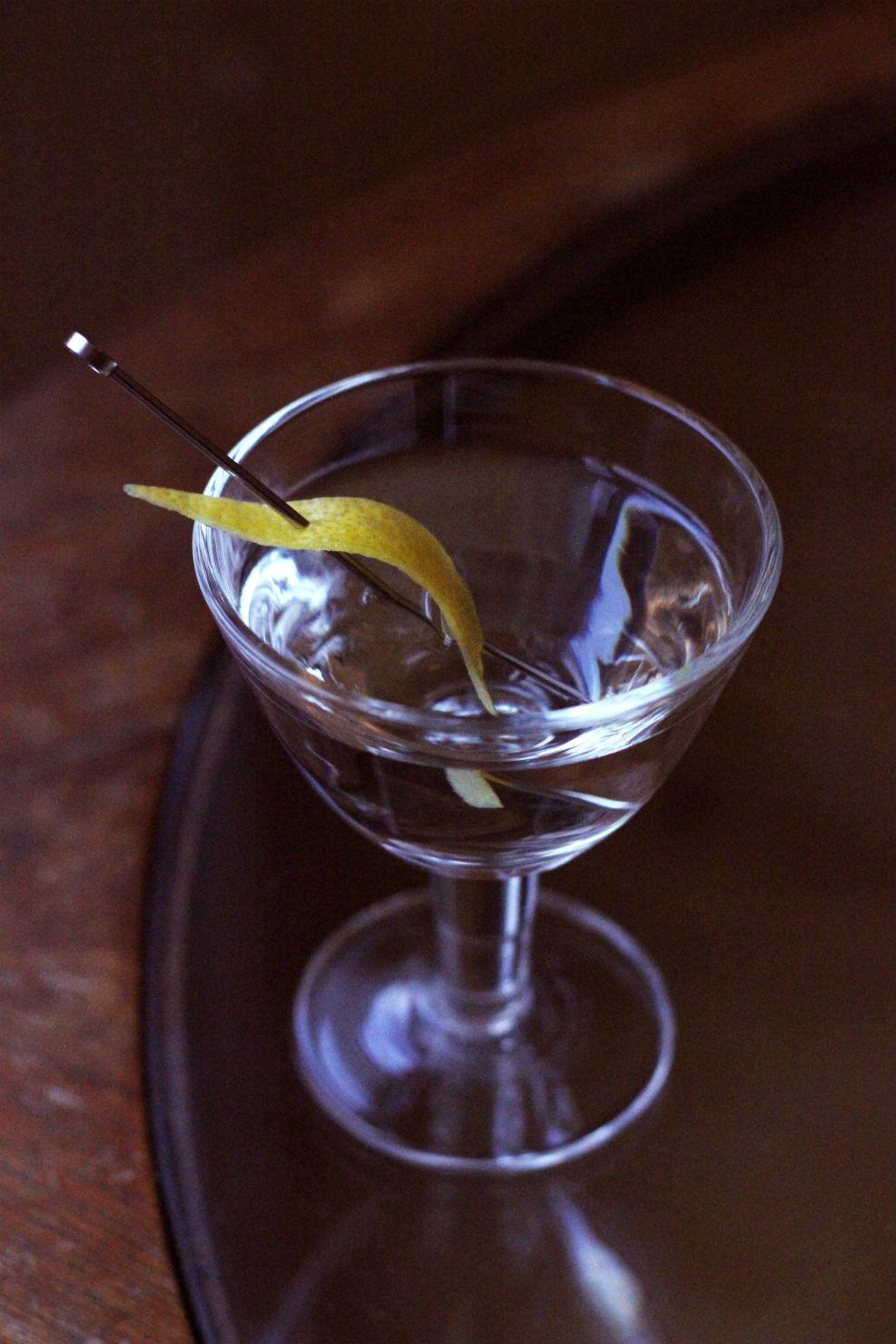 The perfect martini? Photo: Alice Lascelles