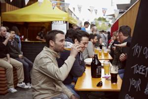 Stalls, booze, streetfood. Photo: CTB