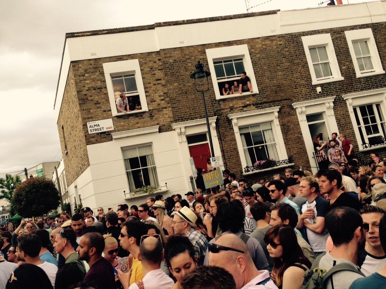 A real community? Alma Street Fair. Photo: SE