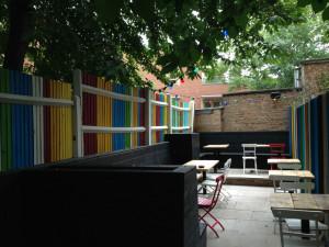 Magical: dining garden too. Photo: SE
