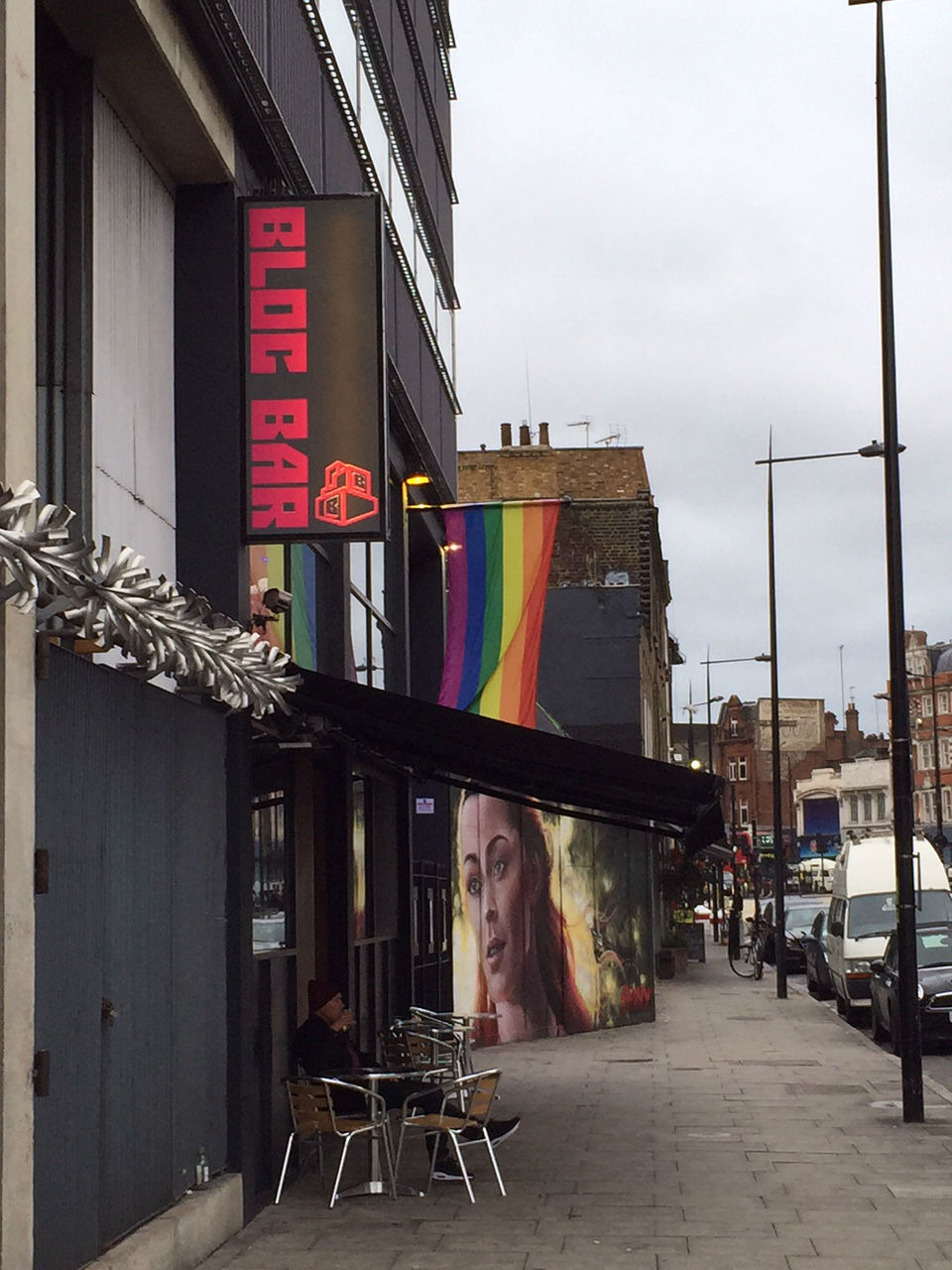 Colourful addition to Kentish Town Road. Photo: SE