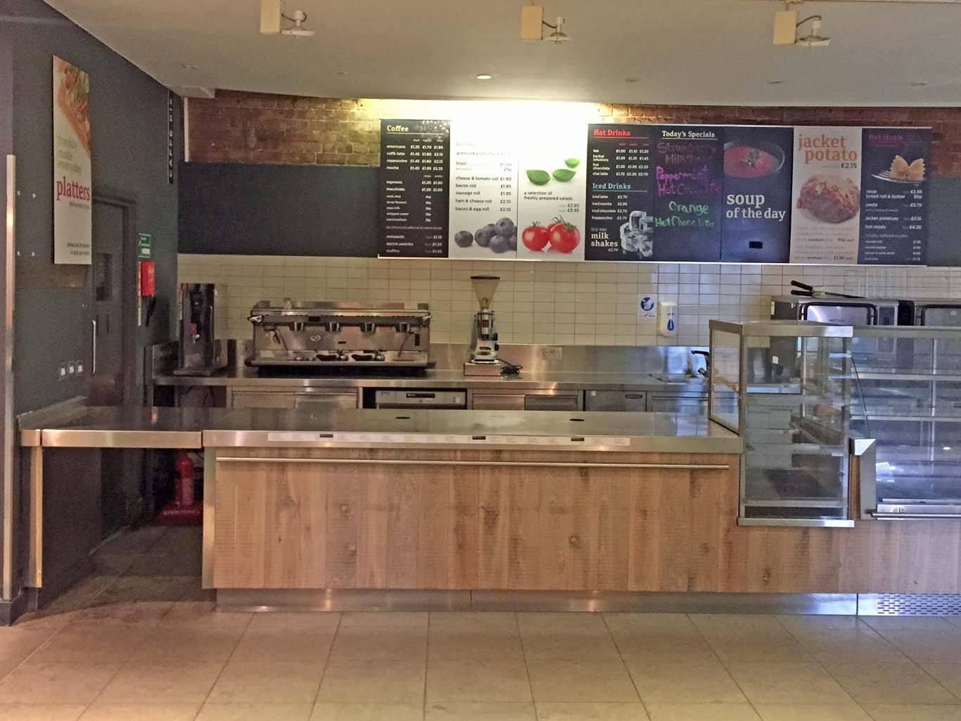 Caffe Kix: closed and ready for the Soho House treatment. Photo: Tom Kihl