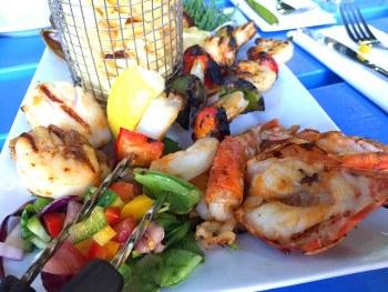 Grilled sharing platter. Photo: SE