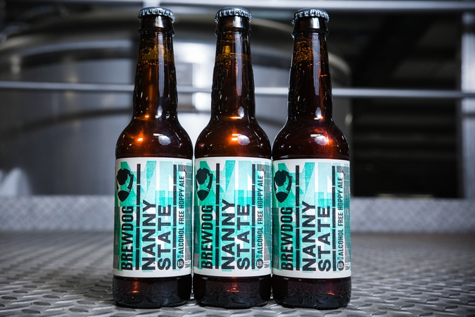 One of the few genuinely convincing ABV-free beers. Photo: Brewdog