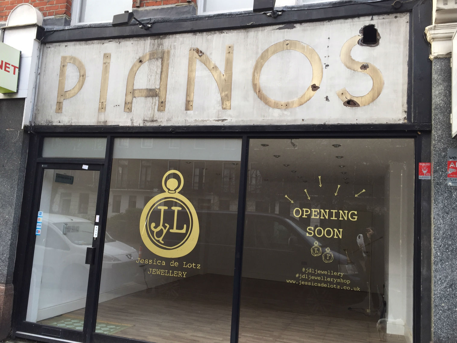 Classic: the ghost sign on Fortess Road that the new owner is to retain. Photo: SE