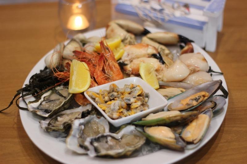 Shellfish platter at Seawise. Photo: PR