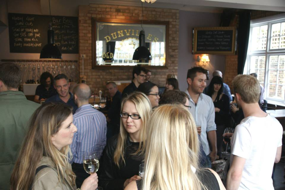 A Kentish Cluster event at the Vine, Highgate Road. Photo: KC