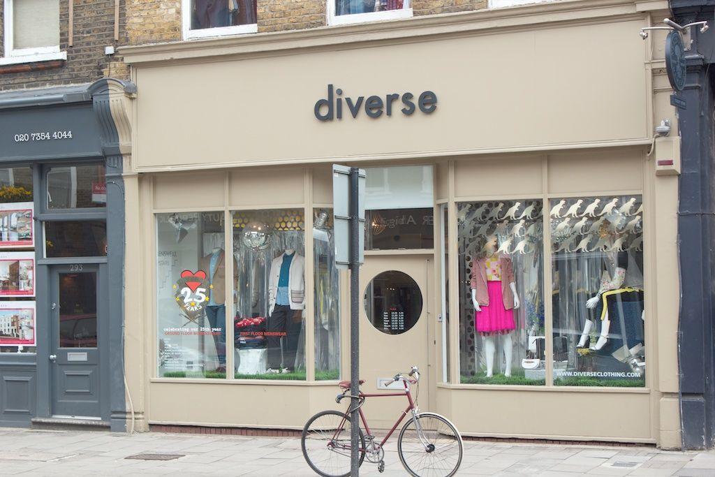 Diverse, Upper Street. Photo: shopikon.com