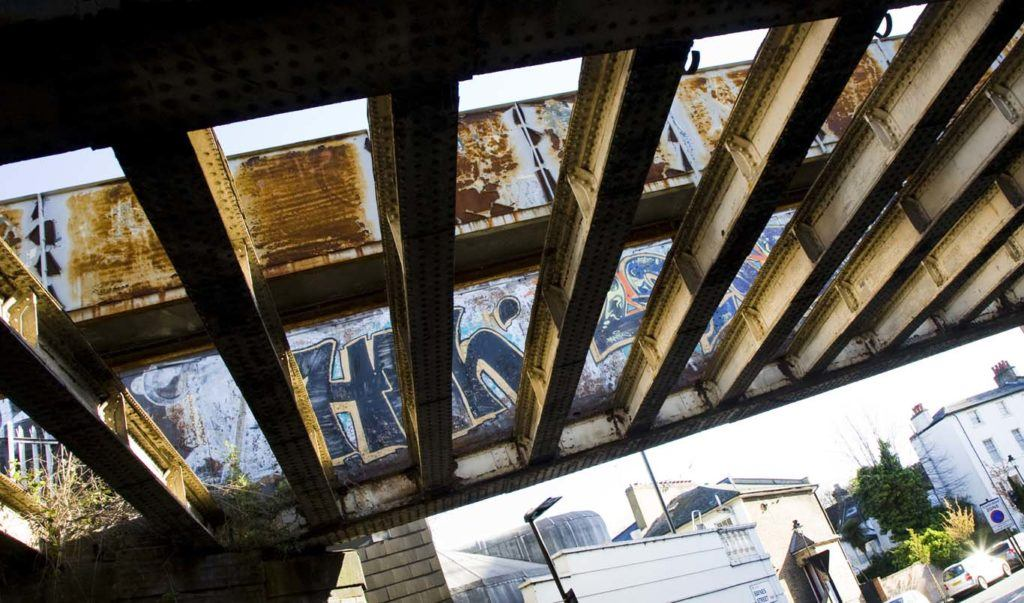 Urban decay. What's the future for this rusting bridge?