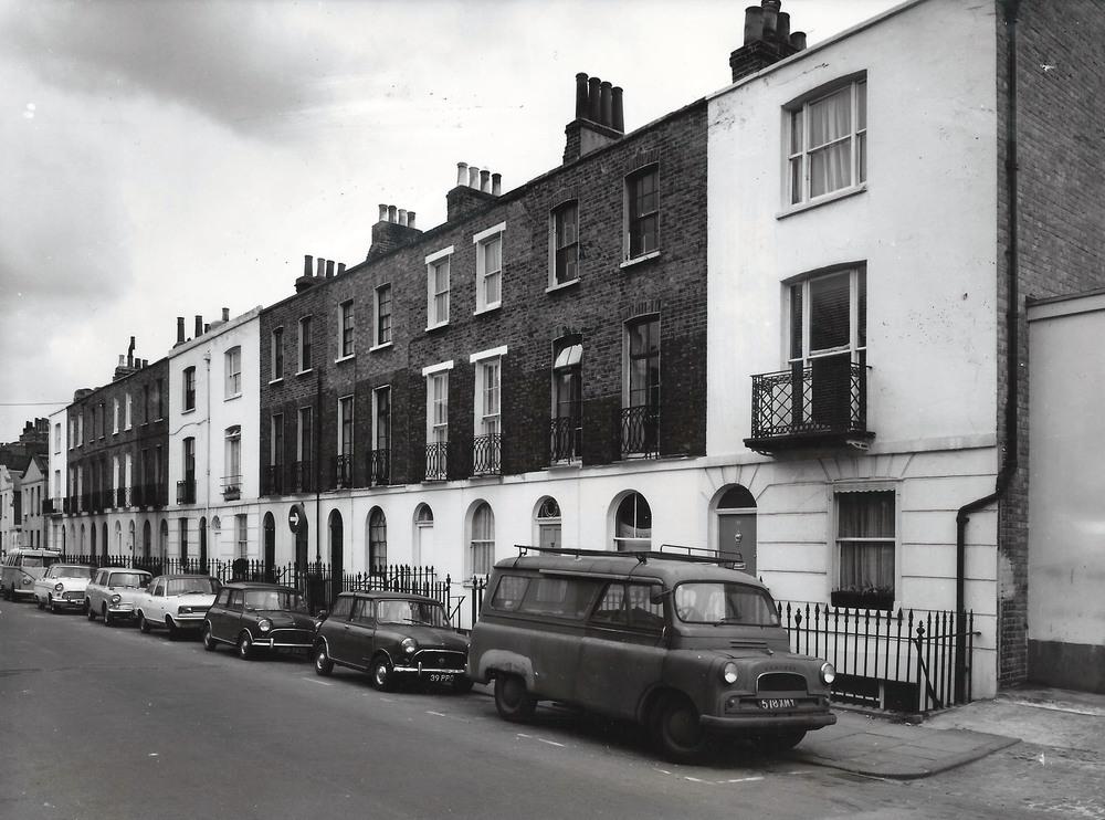 Jeffreys Street in 1969. Photo: JeffreysStreet.co.uk