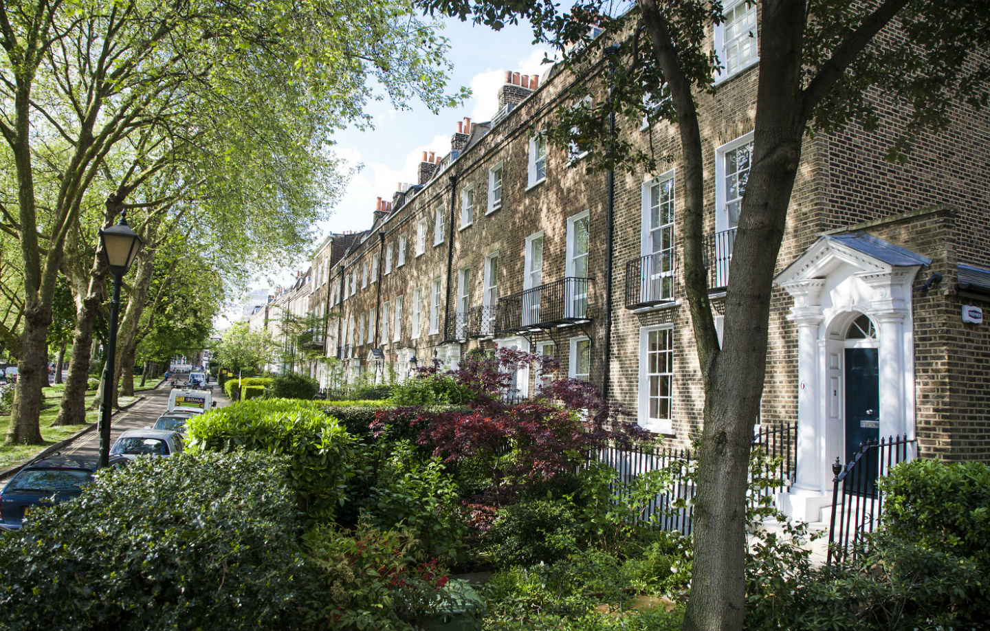"""Grove Terrace: it played a key role in the cultural """"special relationship"""" between the US and Britain. Photo: Andy Stewart (manfriday.london)"""