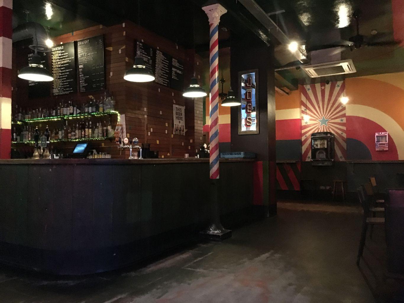 A useful late-night bar whatever the day of the week. Photo: Joe's