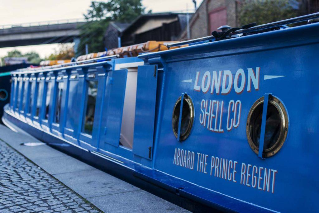 Cast off on a culinary cruise aboard this rather handsome canal boat. Photo: LSC