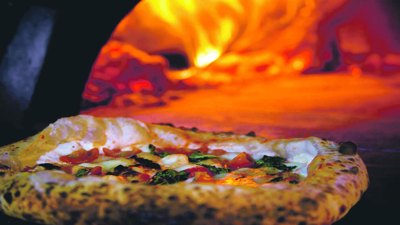 Wood-fired. But not as good as the nearby Pizzeria Di Camden. Photo: Rullo's