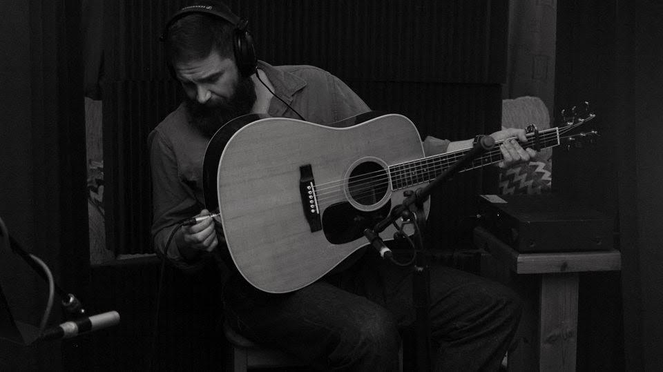 One man and his guitar: Matthew James Crutchlow. Photo: PR