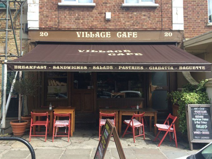 The Village Cafe is a key location in the show. Photo: Zomato