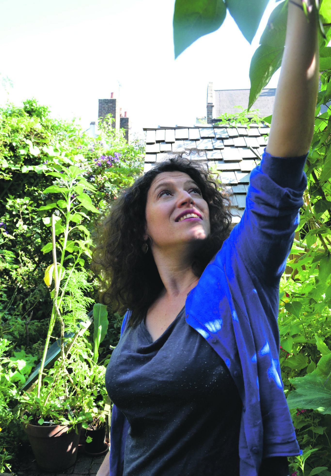 In her paradise: Charlotte Mendelson. Photo: Joanna Briscoe
