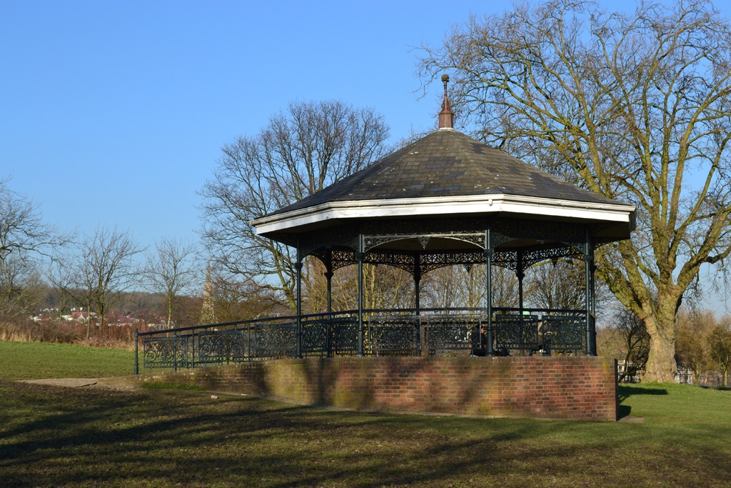 The bandstand on Parliament Hill. Photo: Tom Kihl