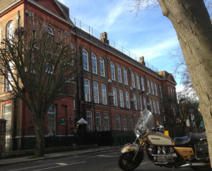 Impressive: Ryhl School as it is today. Photo: SE