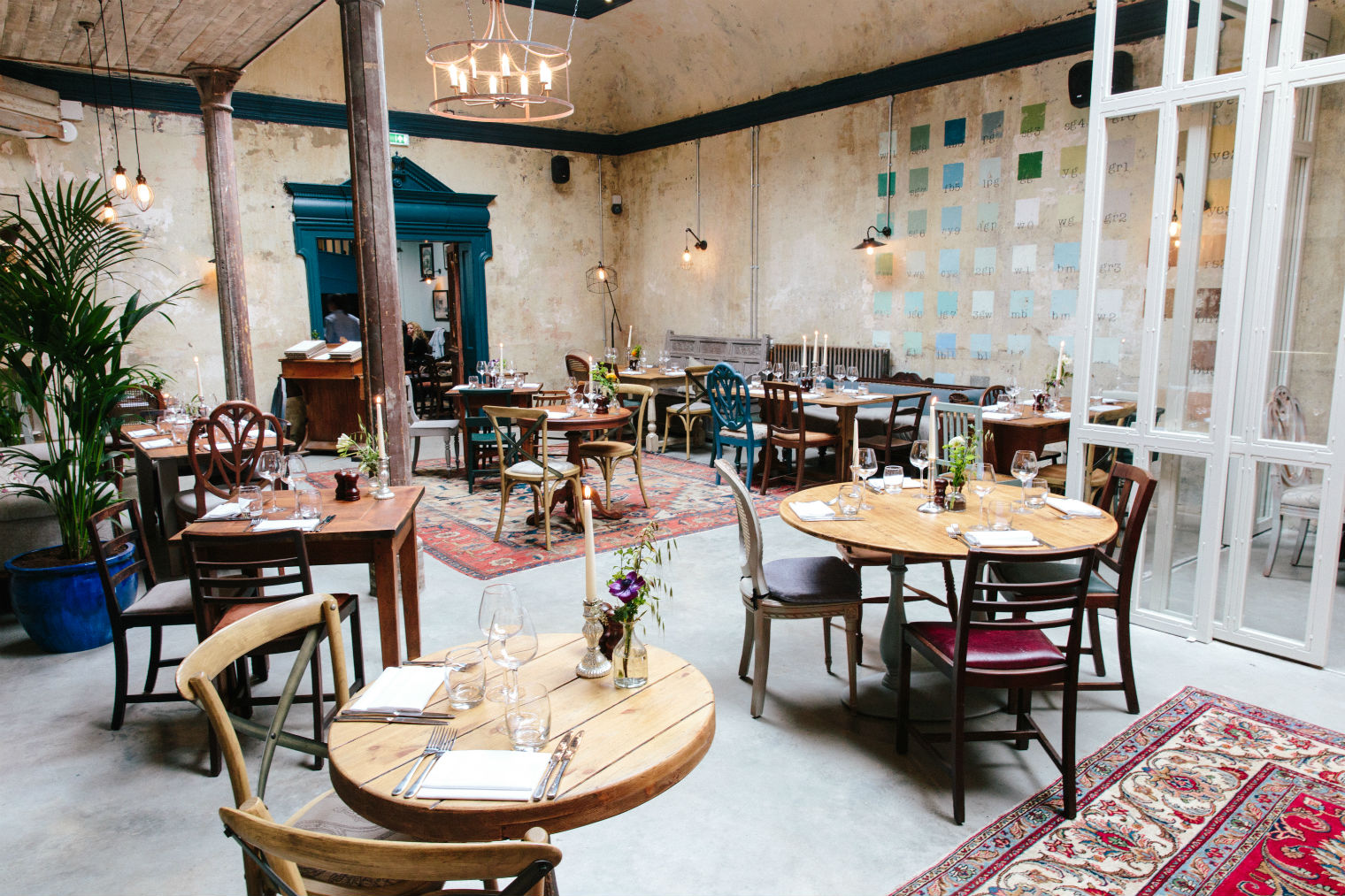 The dining room. Photo: PR