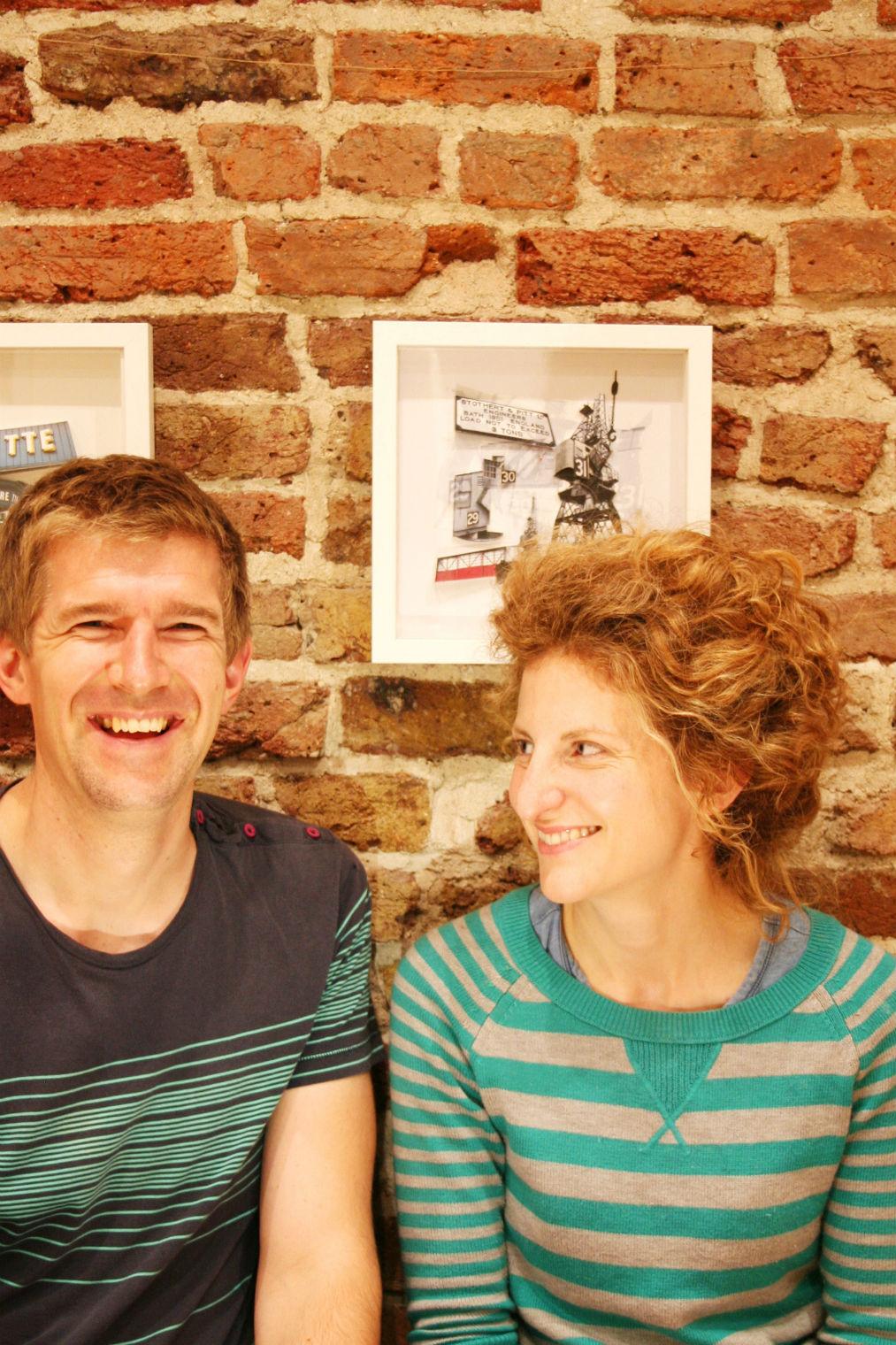 Dominic Mallin & Laura McEwen.