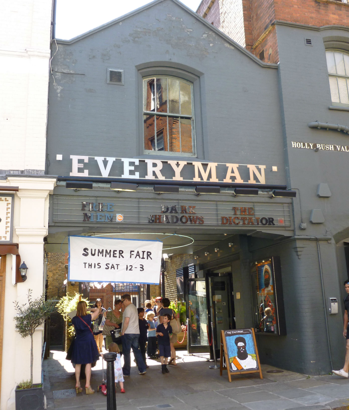 Everyman in Hampstead: packed with munchers and talkers. Photo: Everyman