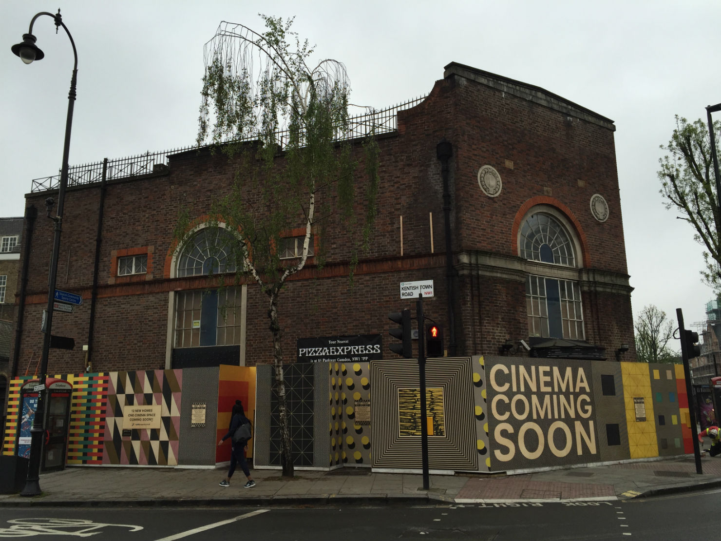 Nearly there? The cinema will open within the next six months. Photo: SE