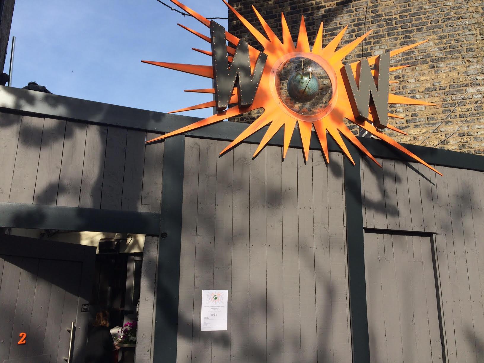 The entrance to WOW Studio. Photo: AC