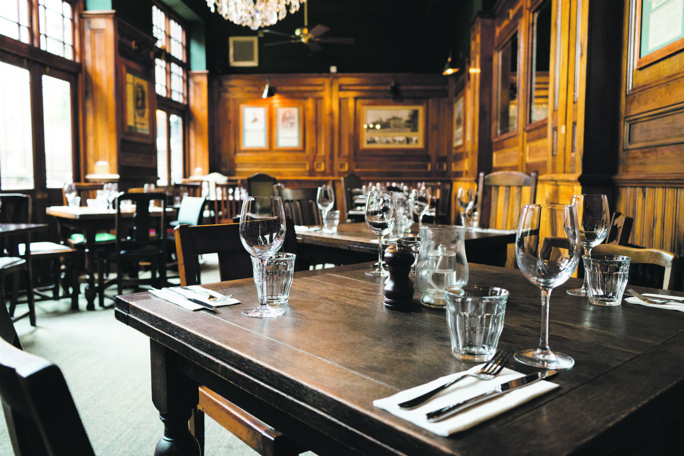 Grand: dining room. Photo: PR