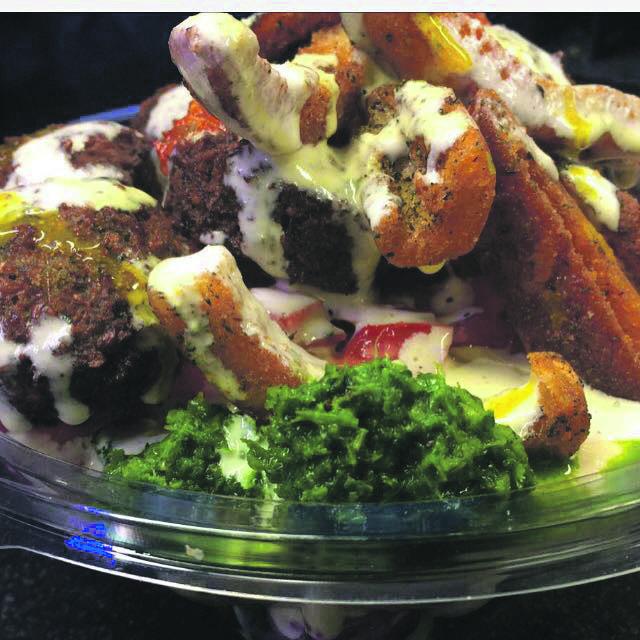 The falafel.
