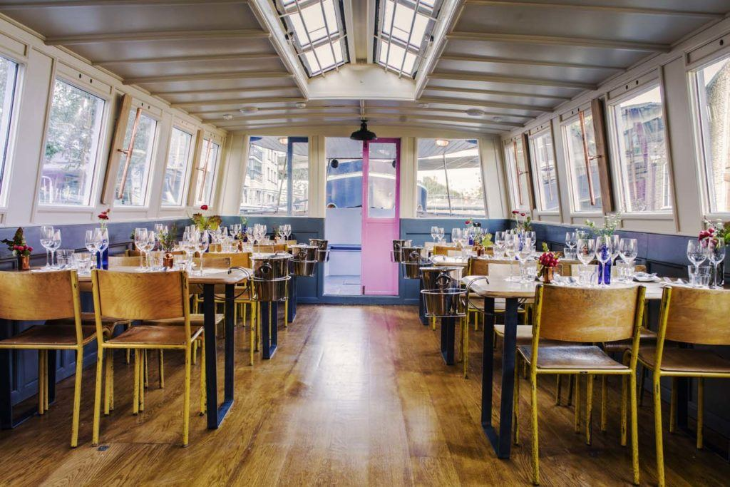 The polished interior of the Prince Regent. Photo: London Shell Co.