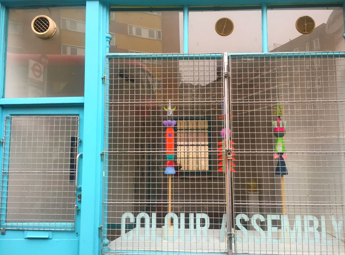 Colour Assembly is on for just a week on Malden Road. Photo: SE