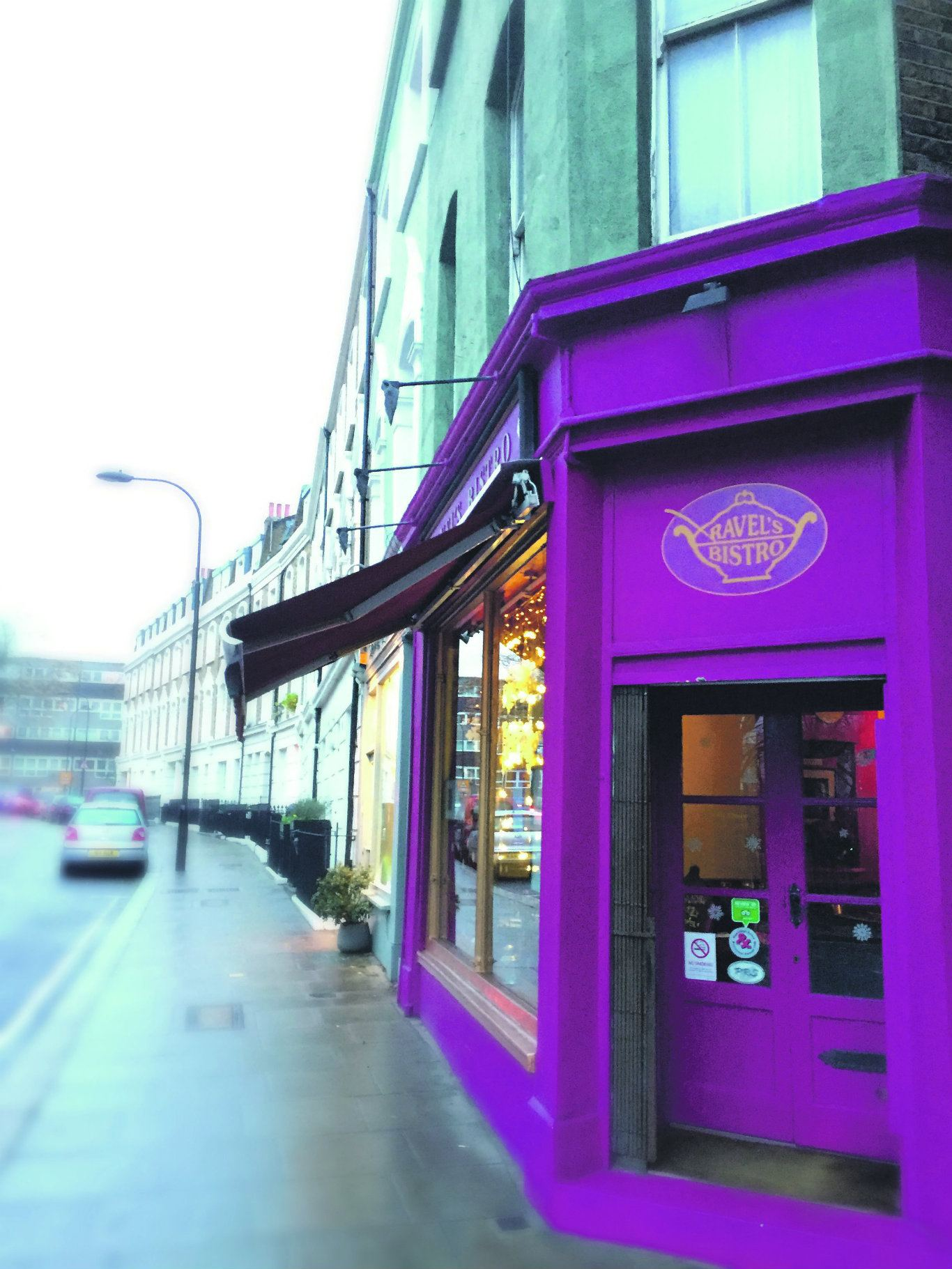 Ravel's Bistro has been on Fleet Road since the 1990s. Photo: SE