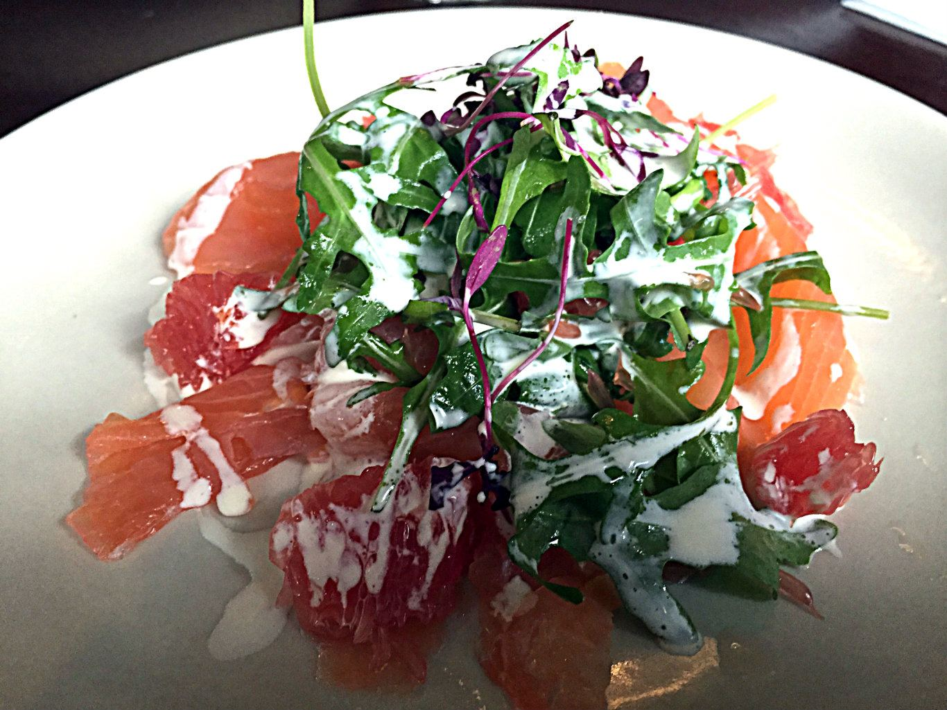 Pimped up with grapefruit and gin cream. Photo: SE