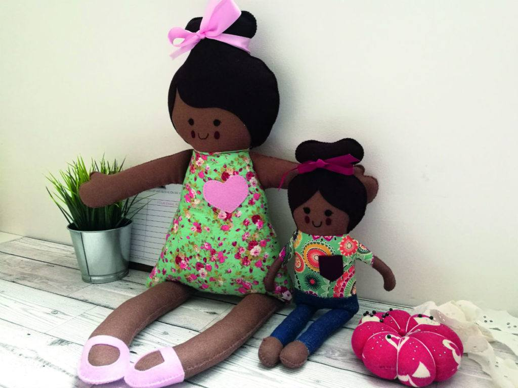 Doll designer Alisha Lestrade